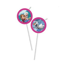 Disney Frozen Straws