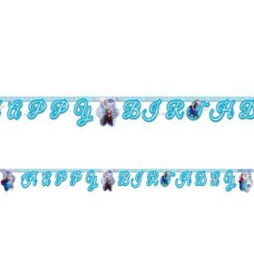 Disney Frozen Happy Birthday Banner 2m