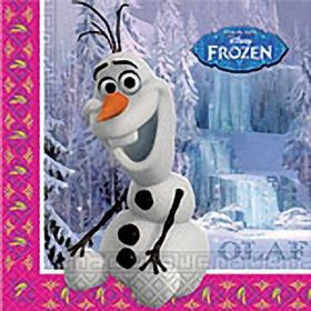 Disney Frozen Olaf  Party Napkins, pk20