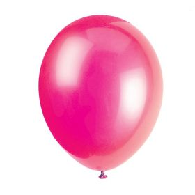 Fuchsia Latex Balloons