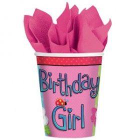 Birthday Girl Cups