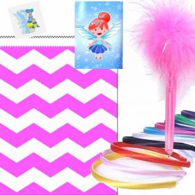 Girls Luxury Chevron Party Bag Ready to Fill