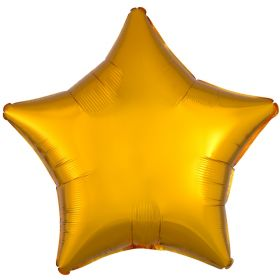 Gold Metallic Star Standard Foil Balloon 18''