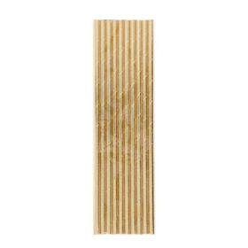 Gold Foil Paper Straws, pk10