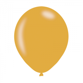 "Pearlised Gold Latex Balloons 11"", pk10"