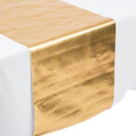 Metallic Gold Table Runner