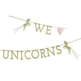 We ♥ Unicorns Magical Garland