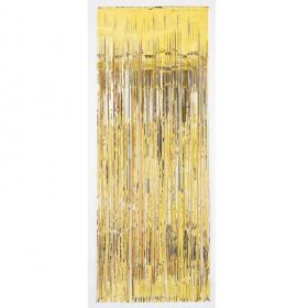 Gold Metallic Curtain