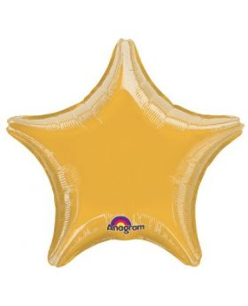 Metallic Gold Star Foil Balloon