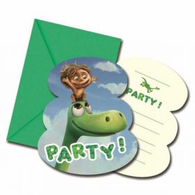 The Good Dinosaur Invitations Pk6