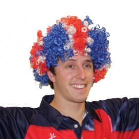 Great Britain Afro Wig (one size fits all)