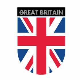 Great Britain Union Jack Flag Car Magnet