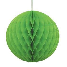 Lime Green Honeycomb Ball Party Decoration 20cm