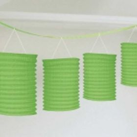 Green Lantern Garland, 12ft