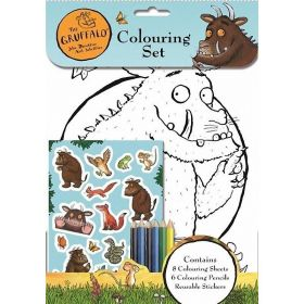 Gruffalo Colouring Set