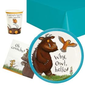 The Gruffalo Party Pack For 8 Including Tableware And 8 Filled Party Bags