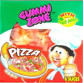 Gummy Pizza Sweet