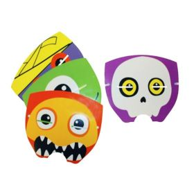 Halloween Boo Crew Paper Masks