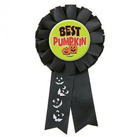Best Pumpkin Halloween Award Ribbon
