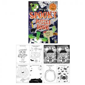 Halloween Fun Puzzle Book