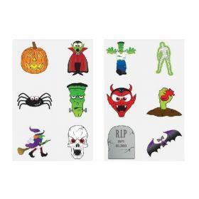 Halloween Tattoos, pk12