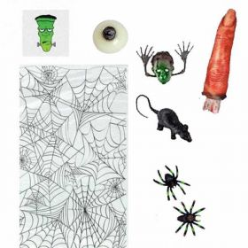 Halloween Horror Party Bag Kit, One supplied
