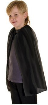 Halloween Childs Black Cape (one supplied)