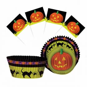 Halloween Cupcake Kit (48 piece)