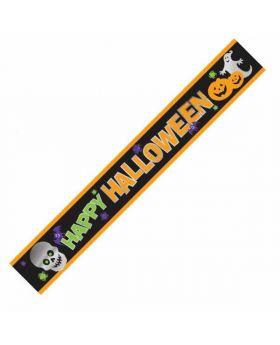 Halloween Foil Party Banner 2.74 x 12.7cm
