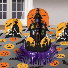 Halloween Haunted House Table Decorating Kit