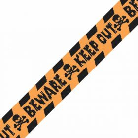 Halloween Keep Out Caution Tape