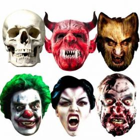 Halloween Party Masks pk6