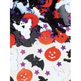 Halloween Night Metallic Confetti Mix