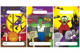 Spooky Party Bags, 6 supplied