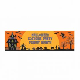 Halloween Personalised Giant Sign Banner