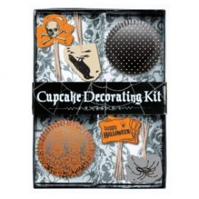 Halloween Shocktails Cupcake Decorating Kit Contains