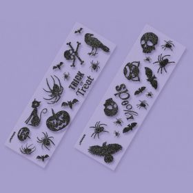 Halloween Glitter Sticker Pack (6pk)