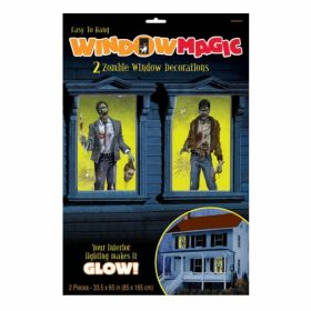 Halloween Zombie Window Magic Decoration