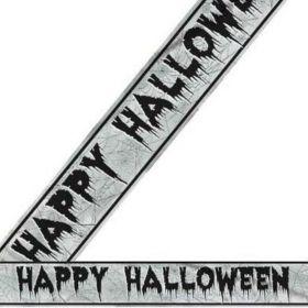 Happy Halloween Foil Banner