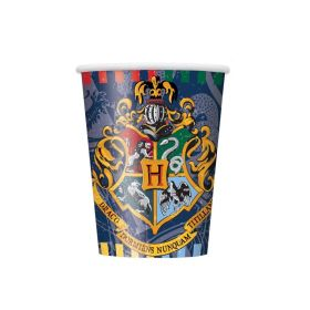 Harry Potter Cups 270ml, pk8