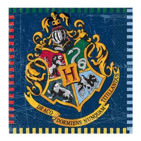 Harry Potter Napkins 33cm x 33cm, pk16