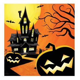 Halloween Haunted Night Party Napkins