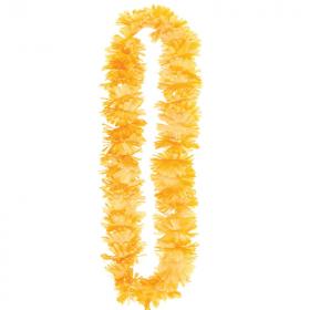 Hawaiian Summer Breeze Orange Lei