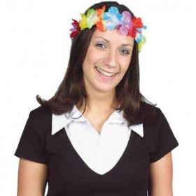 Hawaiian Tropical Lei Headband