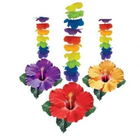 Hawaiian Theme Dangling Cutouts, Pack of 3
