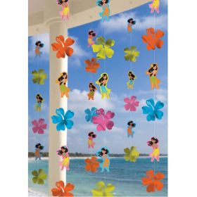 Hawaiian Hula Girl String Decorations