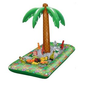 Hawaiian Inflatable Tropical Palm Cooler