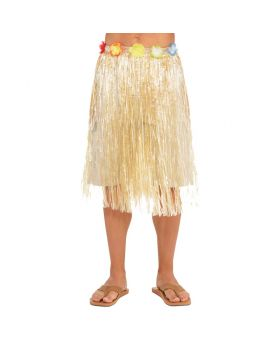 Hawaiian Natural Adult Long Skirt