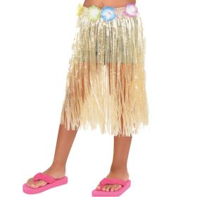 Hawaiian Natural Child Long Skirt