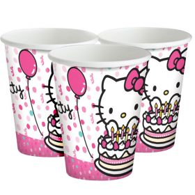 Hello Kitty Cups pk8